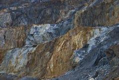 最小值开放硫铁矿 库存图片