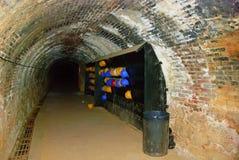 最小值隧道 免版税库存图片