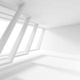 最小的办公室室内设计 创造性的工业概念 3d 库存图片