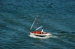 最小的小船 库存照片