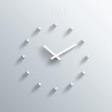 最小的时钟 免版税图库摄影