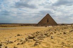 最小的金字塔 图库摄影