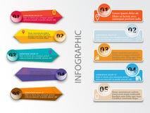 最小的infographics 向量 库存例证