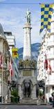 最尚贝里著名纪念碑 免版税图库摄影