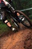 最快速度登山车 免版税库存照片
