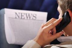 最新新闻 免版税库存图片
