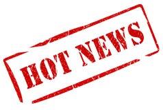 最新新闻印花税 向量例证