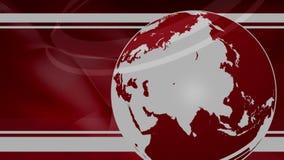 最新新闻地球背景 皇族释放例证