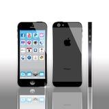 苹果计算机iPhone 5 免版税库存图片