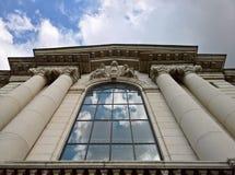最旧的大学的细节在保加利亚-圣Kliment Ohridski 免版税库存照片