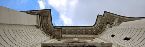 最旧的大学的细节在保加利亚 免版税库存图片