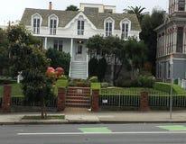 最旧的房子在旧金山,未改变, 1 免版税图库摄影
