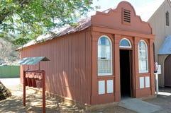 最旧的房子在金伯利 免版税图库摄影