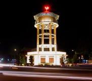 最旧的水塔在Ba Ria市-越南 库存图片