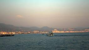 最普遍的旅游目的地的土耳其一在土耳其里维埃拉 位于安塔利亚省  股票视频