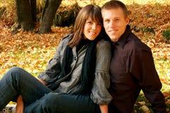 最甜的夫妇 免版税库存图片