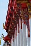 最美丽的寺庙在泰国 免版税库存图片