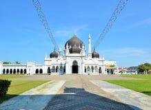 最美丽的查希尔清真寺在吉打马来西亚 免版税库存照片