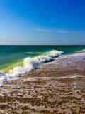 最美丽的海波浪 图库摄影