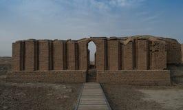最老在世界古老曲拱, Ur, Dhi Qar,伊拉克 免版税库存照片