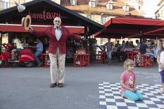 最老的步舞蹈家在世界上 免版税库存照片