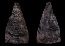 最著名泰国&老挝护身符Phra苍白占巴塞省 库存照片