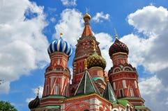 最著名的俄国教会 库存照片