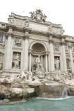 最著名的地标的罗马一- Trevi Foun 库存图片