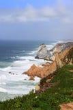 Cabo Da Roca,葡萄牙 免版税库存图片