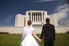最近婚姻 库存照片