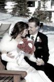 最近结婚 免版税库存照片