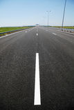 最近被编译的高速公路 免版税库存图片
