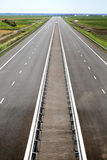 最近被编译的高速公路 库存图片