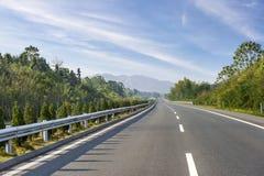 最近被编译的高速公路 库存照片