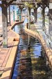 最长的脚浴在日本在奥巴马市在奥巴马市 免版税库存照片
