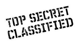 最高机密的被分类的不加考虑表赞同的人 库存图片
