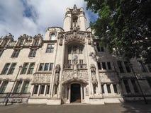 最高法院在伦敦 免版税库存照片