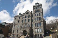最高法院大厦,街市圣约翰斯,纽芬兰 免版税库存图片