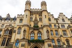 最高法院英国米德塞科斯市政厅威斯敏斯特Lon 免版税库存图片