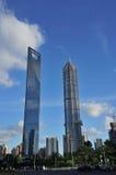 最高的大厦在上海 库存照片