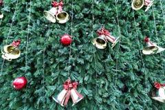 最高的马来西亚圣诞树的全视图 免版税库存图片