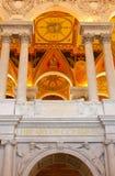 最高限额国会dc图书馆华盛顿 库存图片