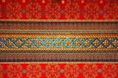 最高限额泰国模式的寺庙 免版税库存图片