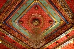 最高限额泰国模式的templ 免版税库存图片