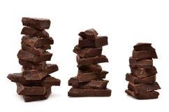 最鲜美的巧克力 库存照片