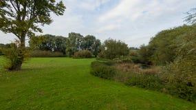 9月下旬的一个公园 免版税库存图片