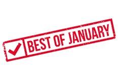 1月不加考虑表赞同的人最好  免版税库存图片