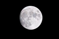 月亮…在一个多云晚上 免版税库存图片