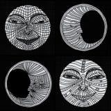月亮例证 免版税图库摄影