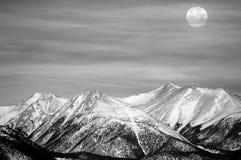 月亮冬天 免版税图库摄影